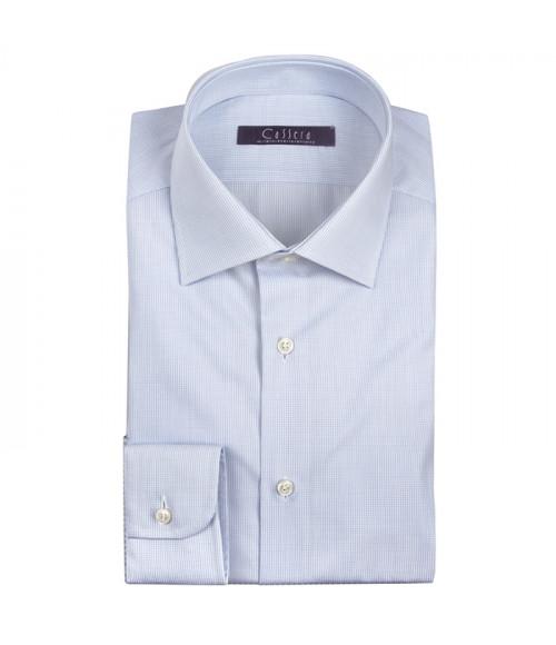 Camicia Uomo Cassera in cotone, slim fit