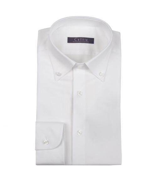Camicia Uomo Cassera in cotone oxford, slim fit