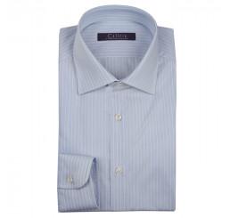 Camicia Uomo in cotone rigato, classic fit